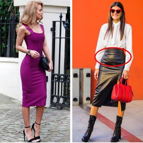 lỗi mặc váy, chọn váy, thời trang