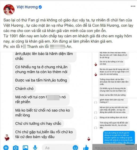 Việt Hương, fan Việt Hương, sao Việt