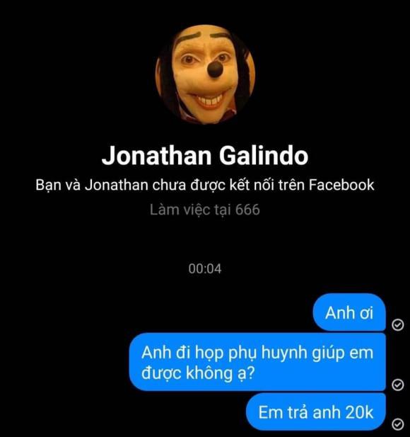 tể hắc ám,Jonathan Galindo,MXH nhiều,Tài khoản hot nhất MXH