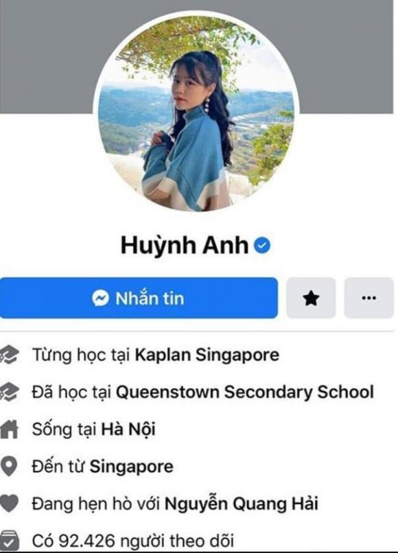 Huỳnh Anh, diễn viên Huỳnh Anh, sao Việt
