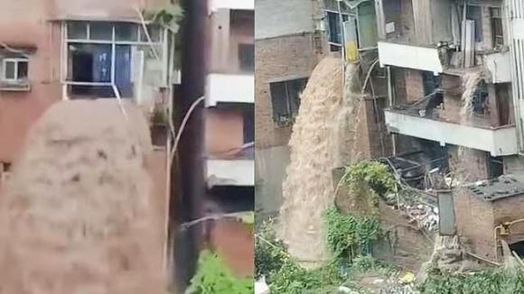 Nước lũ, Trung Quốc, mưa lũ
