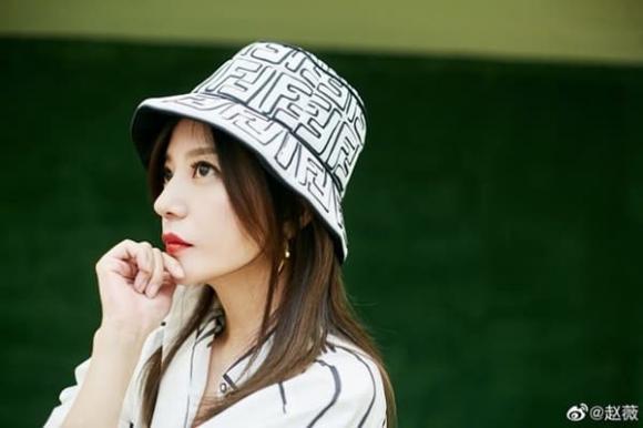 Triệu Vy, thời trang Fendi, sao Hoa ngữ