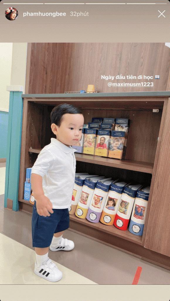 Phạm Hương, sao Việt, Con trai Phạm Hương