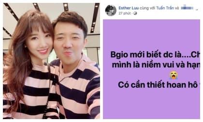 hari won,danh hài Trấn Thành, sao Việt