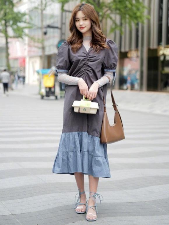 chọn váy, váy nhăn, thời trang