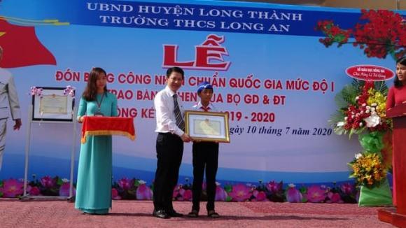 THCS Long An, hành động đẹp, bảo vệ môi trường, cống thoát nước