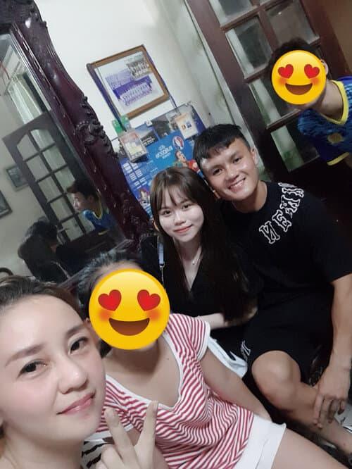 Huỳnh Anh, Quang Hải, chị dâu Quang Hải