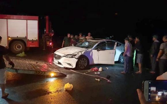 Ô tô con lao xuống biển, tai nạn giao thông, tai nạn chết người