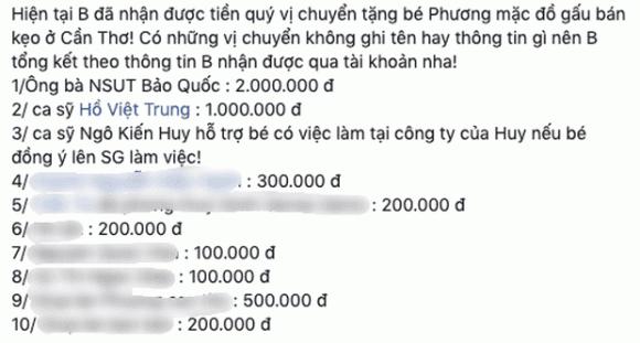 nghệ sĩ Gia Bảo, sao Việt