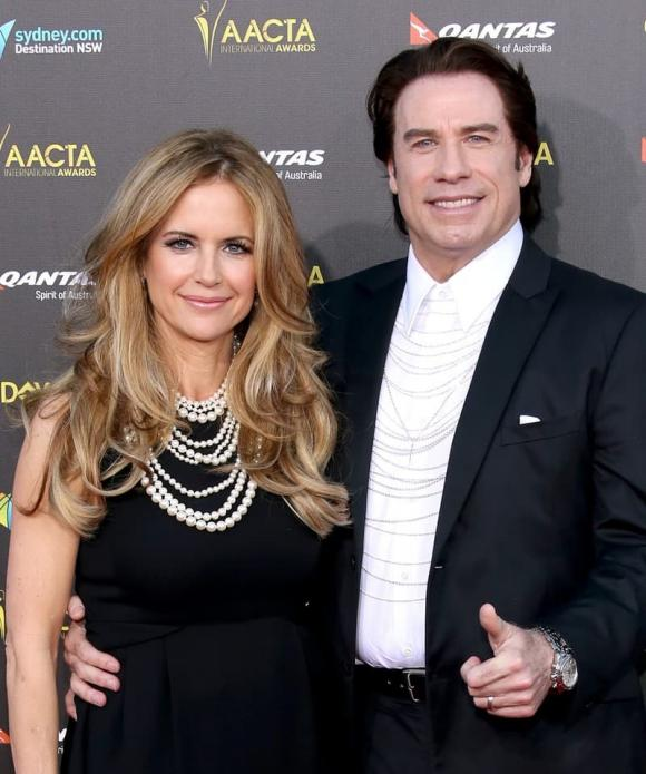 Kelly Preston, sao Hollywood, ung thư vú, John Travolta