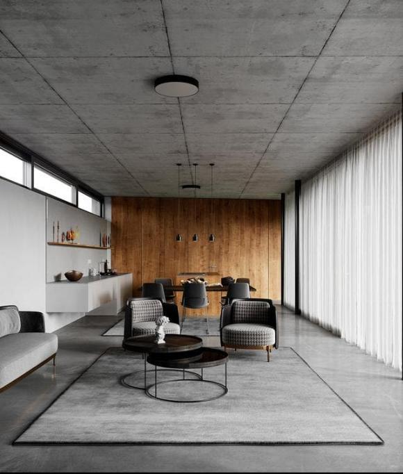 nhà thô, nội thất, xu hướng làm nội thất