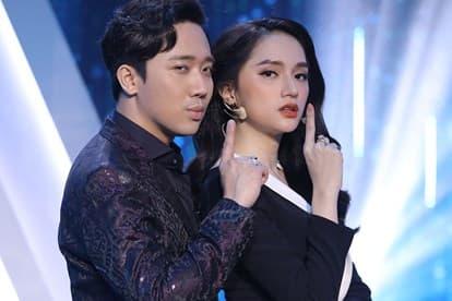 hoa hậu Hương Giang, danh hài Trấn Thành, sao Việt