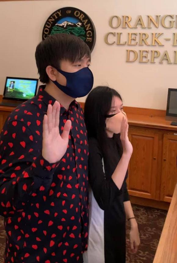 Anh Khang, Anh Khang đăng ký kết hôn, sao Việt