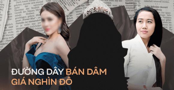 hoa hậu bán dâm, thư dung, jolie nguyễn, sao Việt