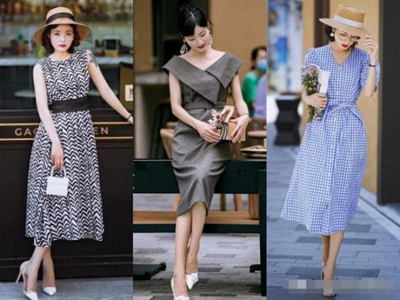 phụ nữ trưởng thành, thời trang, phối trang phục màu sắc
