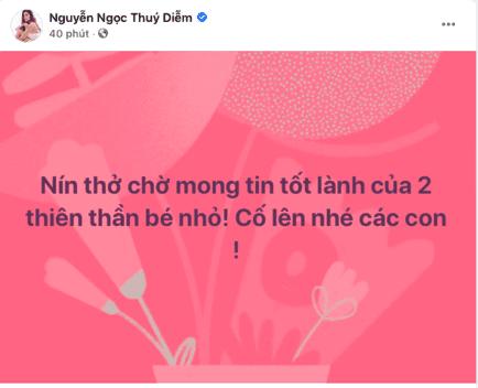 phẫu thuật tách dính, cặp song sinh, sao Việt, Ngọc Lan, Thúy Diễm, Ốc Thanh Vân