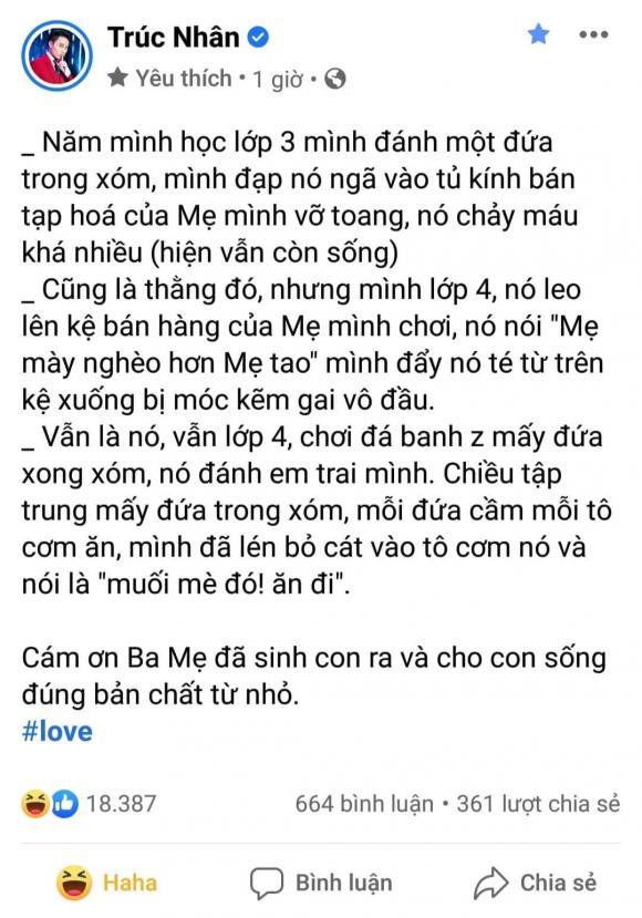 ca sĩ Trúc Nhân, trấn thành, sao Việt