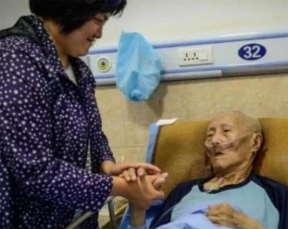 người già, biểu hiện sắp sắp đi, trước khi chết