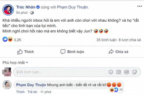 ca sĩ Trúc Nhân, ca sĩ Jun Phạm, sao Việt