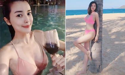 Cao Thái Hà, Cao Thái Hà bikini, thời trang sao Việt