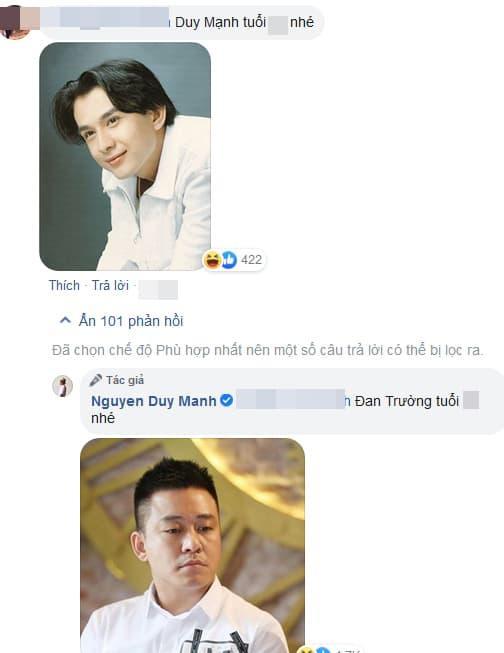Duy Mạnh, Tuấn Hưng, Đan Trường
