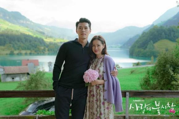 son ye jin, hyun bin, mang thai, hạ cánh nơi anh, phim hàn