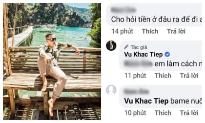 ông trùm chân dài Vũ Khắc Tiệp, sao Việt