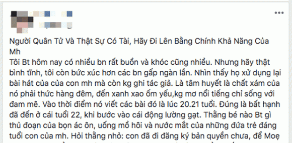 Jack, mẹ của Jack, sao Việt