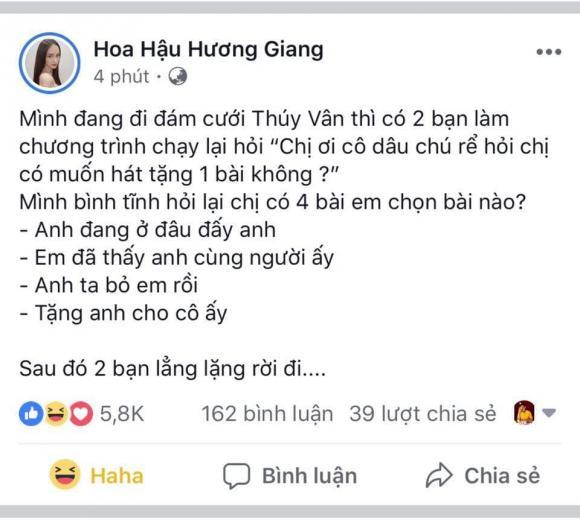 á hậu Thuý Vân, hoa hậu Hương Giang, sao Việt