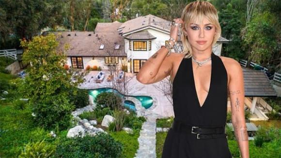 Miley Cyrus, nhà sao, sao Hollywood