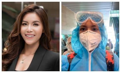 danh hài Trấn Thành, doanh nhân Cường Đô La, hoa hậu Khánh Vân, siêu mẫu Xuân Lan, ca sĩ Vũ Hà, sao Việt