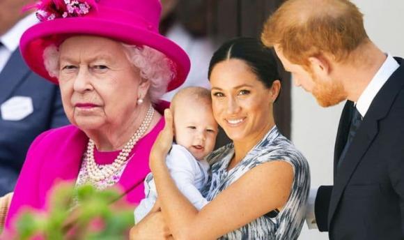 meghan markle, hoàng tử harry, nữ hoàng, hoàng gia anh