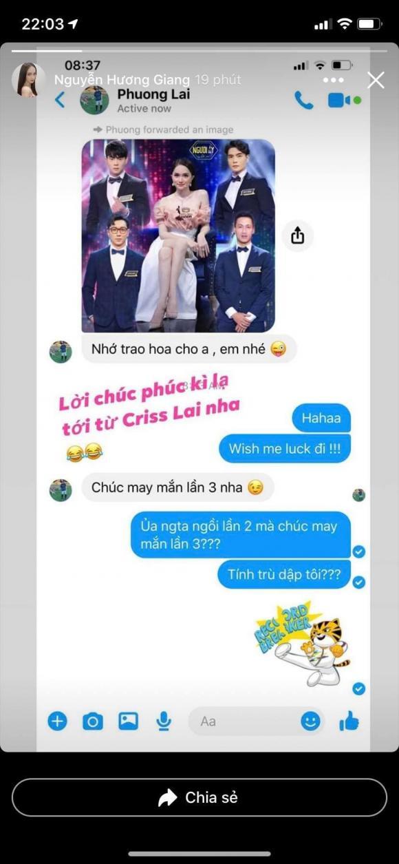 hoa hậu Hương Giang, sao Việt
