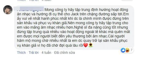 Jack, fan Jack, sao Việt