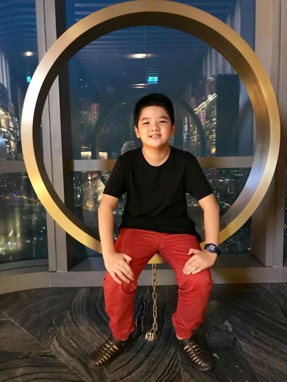 Nguyễn Hoàng Linh, MC Nguyễn Hoàng Linh, con riêng Mạnh Hùng