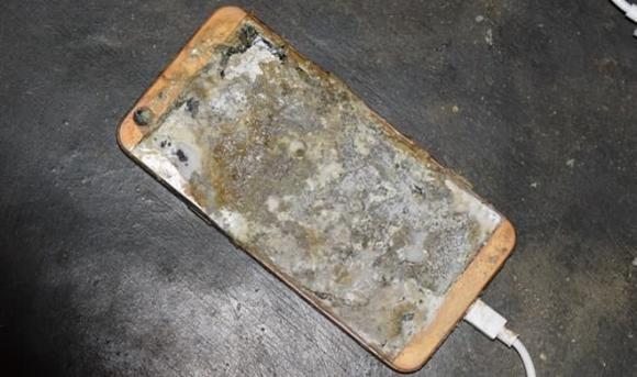 Nổ điện thoại, bỏng toàn thân, tai nạn