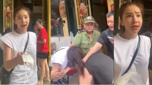 Lưu Đê Ly bị đánh 'sấp mặt' trên phố Hàng Buồm, Hồng Quế hả hê ra mặt?