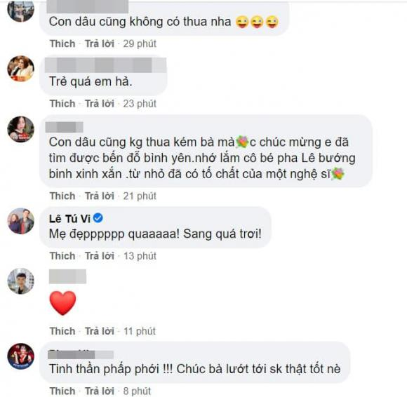 Pha Lê, ca sĩ Pha Lê, sao Việt, mẹ chồng Pha Lê