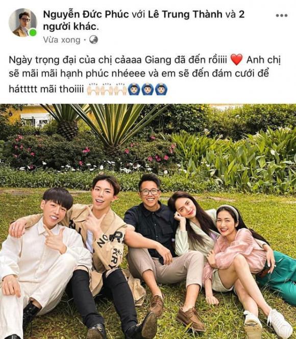 Đức Phúc, sao Việt, Matt Liu, Hương Giang