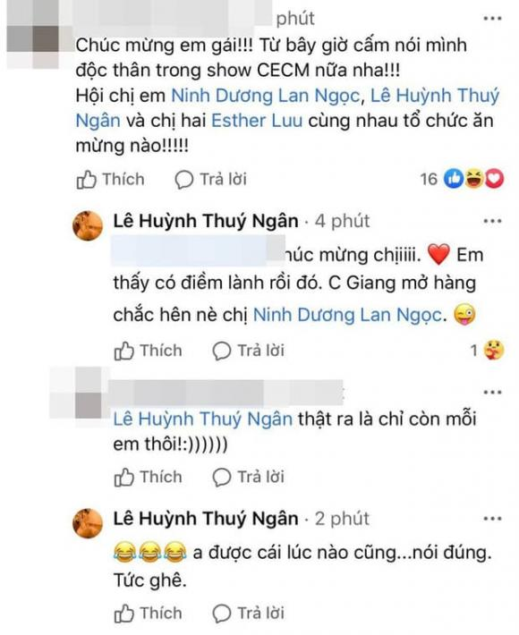Thuý Ngân, Ninh Dương Lan Ngọc, sao Việt