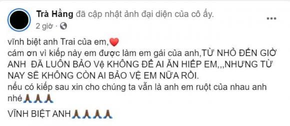 Trà Ngọc Hằng, anh trai Trà Ngọc Hằng, sao Việt