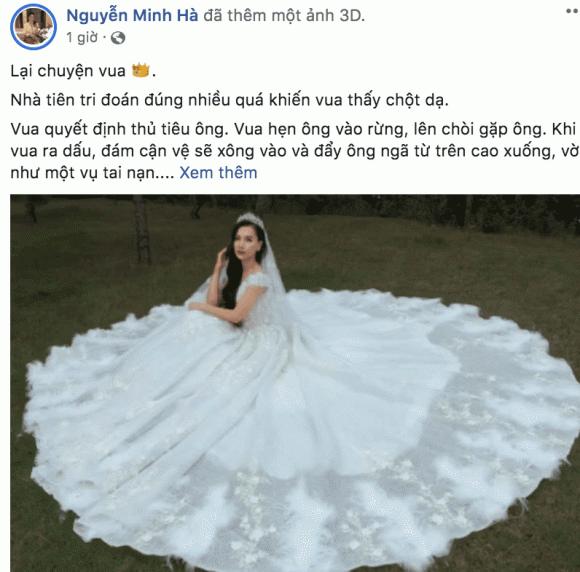 MC Minh Hà, sao Việt
