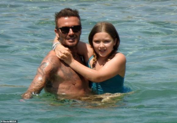 harper seven, con gái david beckham, sao hollywood