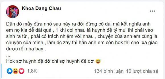 Châu Đăng Khoa, nhạc sĩ Châu Đăng Khoa, sao Việt