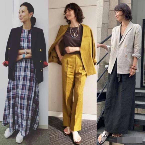 thời trang, thời trang trung niên, thời trang hè, cách mặc đẹp