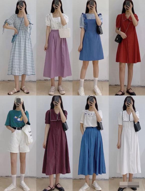 thời trang, thời trang hè, mặc kiểu dễ thương