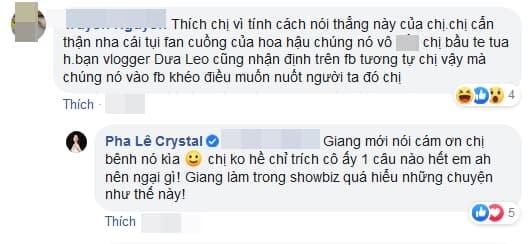 ca sĩ Pha Lê, sao Việt, Hương Giang