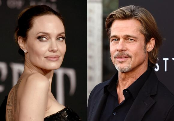 angelina jolie, brad pitt, ly hôn, sao hollywood