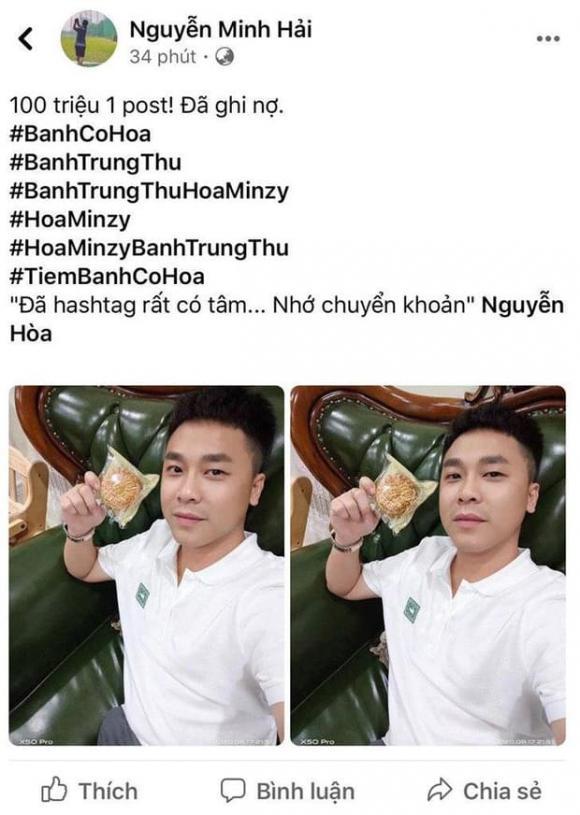 Bạn trai thiếu gia công khai đòi 100 triệu tiền PR từ Hoà Minzy