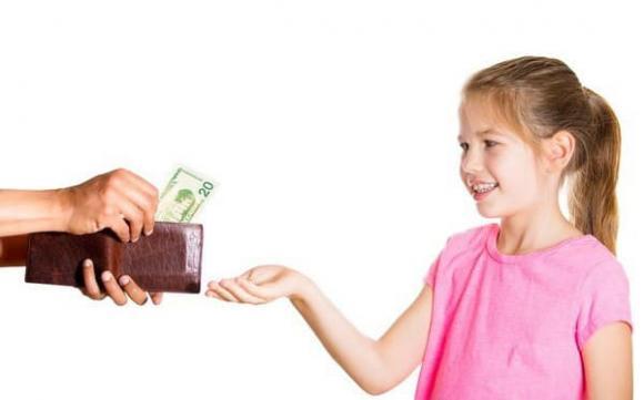 Hướng dẫn cha mẹ cách con tiền tiêu vặt hợp lý nhất